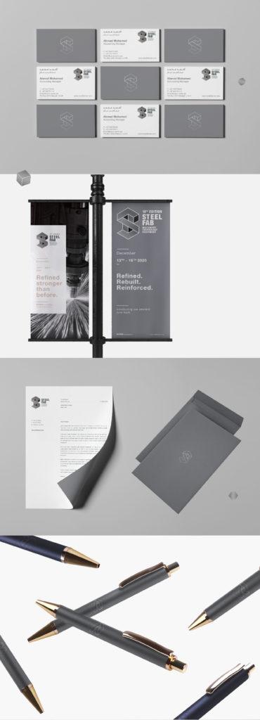 Dorsa Masghati - Steel Fab Brand Identity